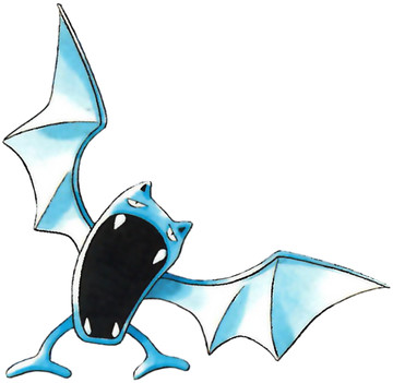 Golbat Early Sugimori artwork