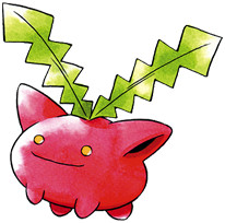 Hoppip Early Sugimori artwork