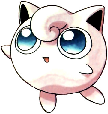 Jigglypuff Early Sugimori artwork