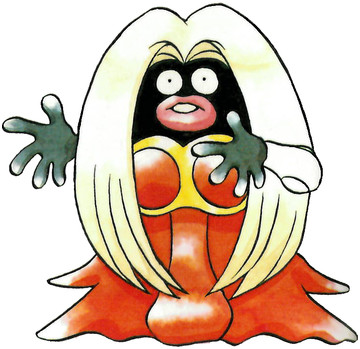 Jynx Early Sugimori artwork - Japan