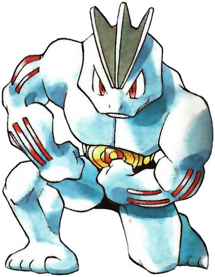 Machoke Early Sugimori artwork