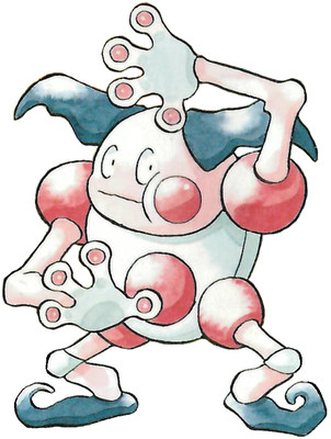 Mr. Mime Early Sugimori artwork - Japan