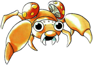 Paras Early Sugimori artwork