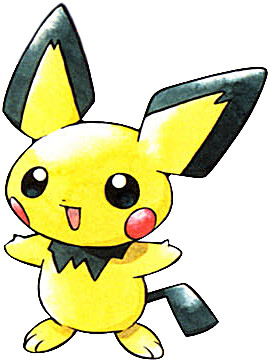 Pichu Early Sugimori artwork