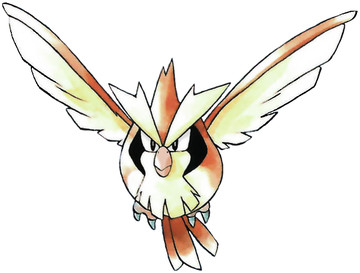 Pidgey Early Sugimori artwork