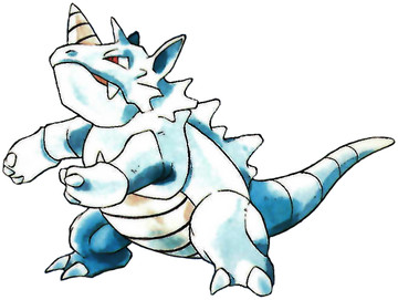 Rhydon Early Sugimori artwork