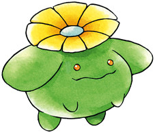 Skiploom Early Sugimori artwork
