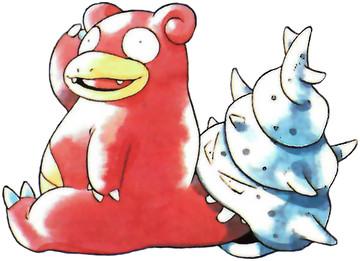 Slowbro Early Sugimori artwork