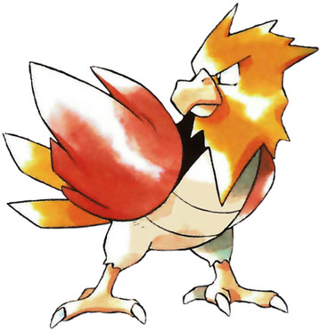 Spearow Early Sugimori artwork