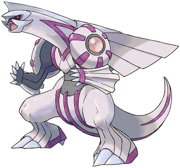 Palkia artwork by Ken Sugimori