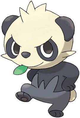 Pancham artwork by Ken Sugimori
