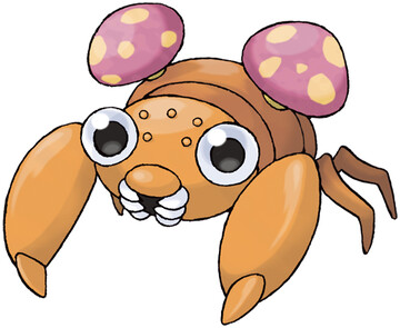 Paras artwork by Ken Sugimori