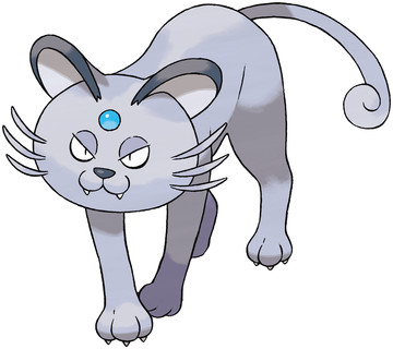 Alolan Persian Sugimori artwork