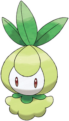 Petilil artwork by Ken Sugimori