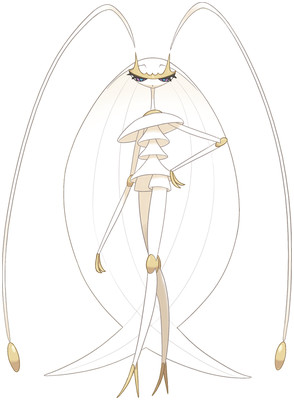Pheromosa artwork by Ken Sugimori