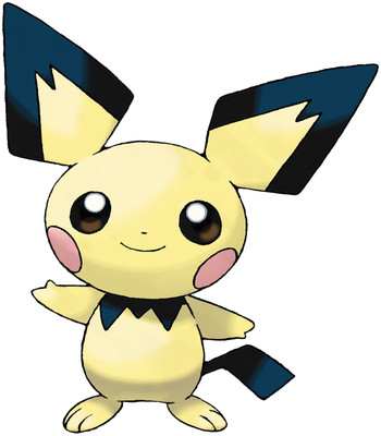 Pichu artwork by Ken Sugimori