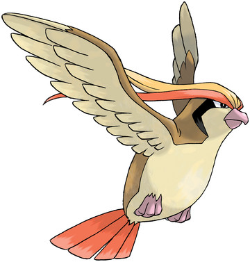 Pidgeot artwork by Ken Sugimori