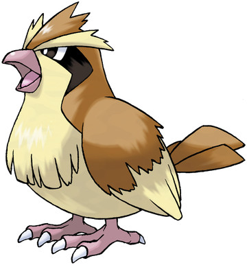 Pidgey artwork by Ken Sugimori