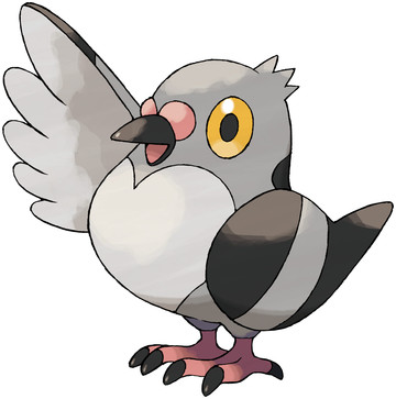 Pidove artwork by Ken Sugimori