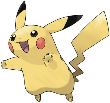 Pikachu artwork by Ken Sugimori
