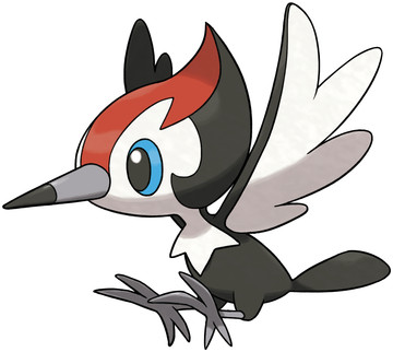 Pikipek artwork by Ken Sugimori