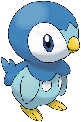 Piplup artwork by Ken Sugimori