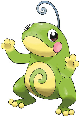Politoed artwork by Ken Sugimori