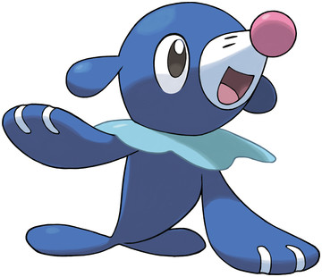 Popplio artwork by Ken Sugimori