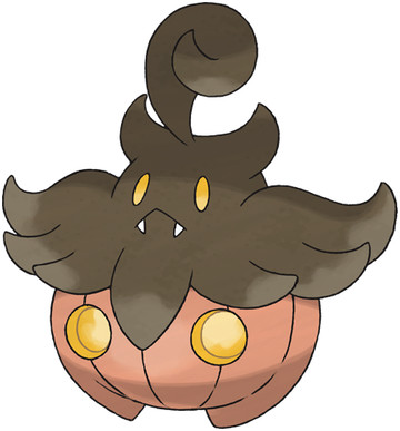 Pumpkaboo (Average Size) artwork by Ken Sugimori