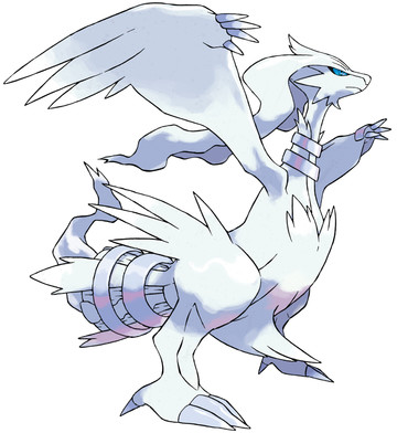 Reshiram artwork by Ken Sugimori