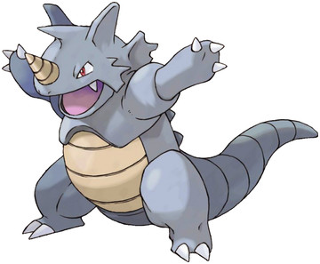 Rhydon artwork by Ken Sugimori
