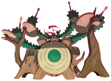 Rillaboom - Gigantamax Sugimori artwork