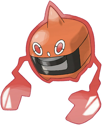 Rotom (Heat Rotom) Sugimori artwork
