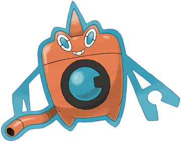 Rotom (Wash Rotom) Sugimori artwork