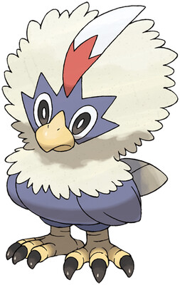 Rufflet artwork by Ken Sugimori