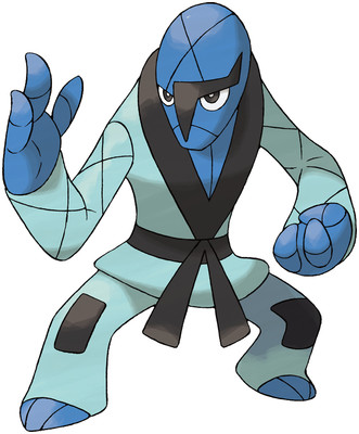 Sawk artwork by Ken Sugimori