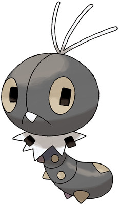 Scatterbug artwork by Ken Sugimori
