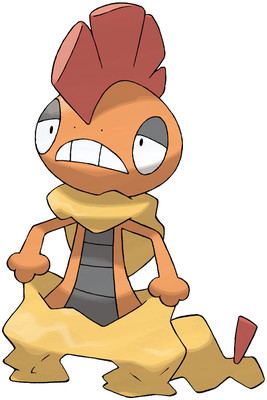 Scrafty artwork by Ken Sugimori