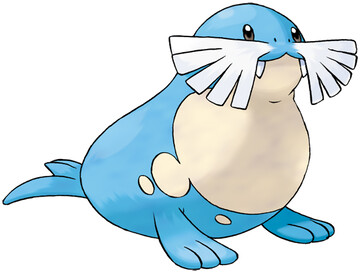 Sealeo artwork by Ken Sugimori
