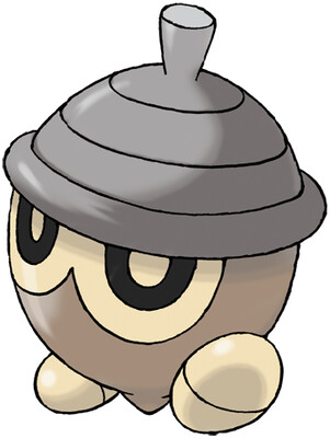 Seedot artwork by Ken Sugimori