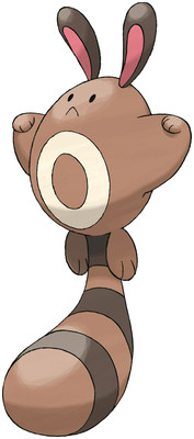 Sentret artwork by Ken Sugimori