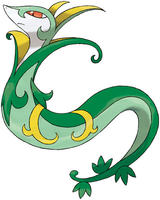 Serperior artwork by Ken Sugimori