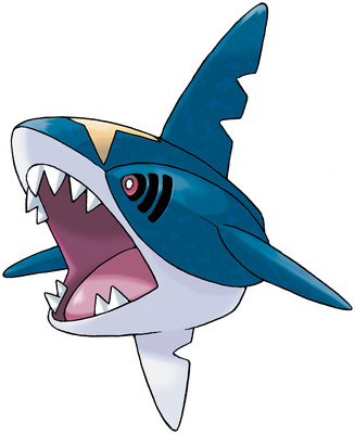 Sharpedo artwork by Ken Sugimori