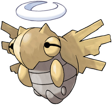 Shedinja artwork by Ken Sugimori