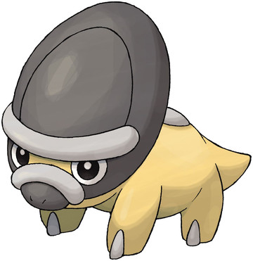 Shieldon artwork by Ken Sugimori