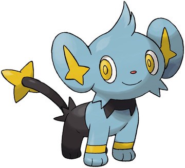 Shinx artwork by Ken Sugimori