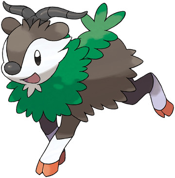 Skiddo artwork by Ken Sugimori