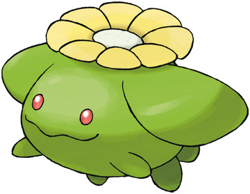 Skiploom Sugimori artwork