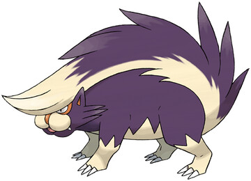 Skuntank artwork by Ken Sugimori
