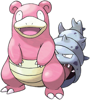 Slowbro artwork by Ken Sugimori